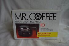 NEW MR COFFEE 10 CUP GLASS CARAFE REPLACEMENT DECANTER D7A HANDLE LID FREE SHIP