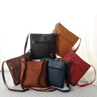 Fashion Womens Leather Satchel Cross Body Shoulder Messenger Bag Handbag Gift