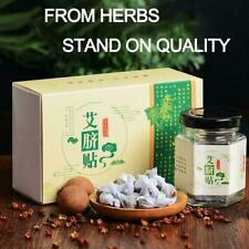 Moxa Navel Sticker Massage Pad Hot Abdomen Paste Foot Chinese Wormwood 2021 KJ