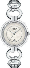 New Tissot Flamingo Diamond Dial Stainless Steel Women's Watch T0942101111600