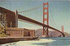 Golden Gate Bridge on Highway 101 in San Francisco, CA. - Union Oil Co. Postcard