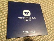 V/A WARNER SAMPLER SPANISH CD SPAIN MADONNA RED HOT CHILI PEPPERS ENYA CARD SLV
