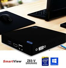 Mini PC Z83V Intel Atom 2GB RAM 32GB DDR3 Windows 10 OS 64bit Desktop Computer