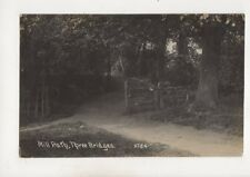 Mill Path Three Bridges Crawley Sussex 1913 RP Postcard 537b