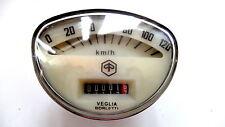 Vespa Tacho 120Km/h Vespa Primavera,ET3,Super Sprint,Veloce etc.(creme)(V-665)