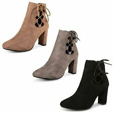 High Heel (3-4.5 in.) Block Unbranded Casual Boots for Women
