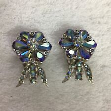 "BELLINI, ""VTG"" Glamorous Clip on Earrings, Stunning J-49 L@@K!!"