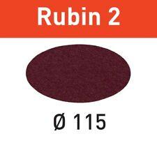 Festool Schleifscheiben Rubin 2 STF D115 P100 RU2/50 für RAS 115 499088