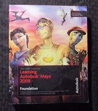 LEARNING AUTODESK MAYA 2009 Foundation FN 6.0 NO DVD