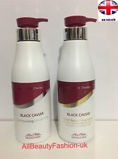 MON PLATIN BLACK CAVIAR Total Repair SHAMPOO 500ml & Reviving CONDITIONER 500ml