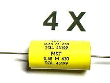 10 x 6,2nf//1500v 5/% dispositivi ad alta tensione-diapositive condensatori mkp1 assiale RFT