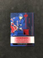 2019-20 UPPER DECK TRILOGY KAAPO KAKKO ROOKIE RENDITIONS RED RR-45 #ed 94/799