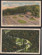 "Vintage Postcard Lot TN-NEWFOUND GAP ""The Loop"" & Laura Spelman Rockefeller Mem."