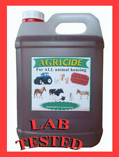 Poultry / chicken disinfectant 5 litre contains lab tested product, FAST acting