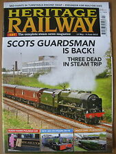HERITAGE RAILWAY THE COMPLETE STEAM NEWS MAGAZINE ISSUE 137  MAY 13 2010