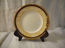 Bread & Butter Pie Plate, Wedgwood China, Cornucopia Pattern (501358) Blue Gold