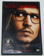 Secret Window Johnny Depp DVD 2004