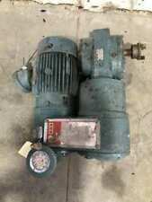 Reliance Electric Reeves B2c21 Moto Drive 601 With 3hp 1730rpm 230460v 3ph Motor