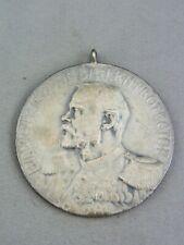 """Schützen-Medaille """"Verbandsschiessen Frankenthal 1907"""" Silber"""