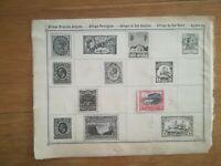 lot N°236 - 1 timbre Suidafrica posseel à décoller - afrique du sud