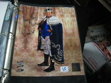 """2014 WWE Photo Files Jerry The King Lawler 8"""" X 10"""" Color Photograph"""