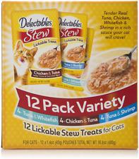 Hartz Delectables Lickable Stew Cat Treats (Pack of 12)