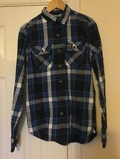 SUPERDRY Checked Long Sleeve Shirt Size Small