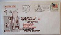 Raumfahrt USA NASA Space Shuttle Rollback of Enterprise 1979 (14216)