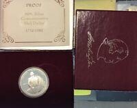 1982 S  George Washington Commemorative Silver  PROOF Half Dollar