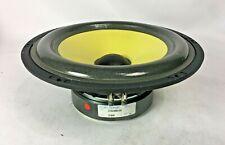 "ScanSpeak 21W/8554-00 8"" Woofer Speakers NOS Pair Made with Kevlar in Denmark"
