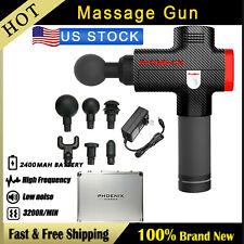 Phoenix Massage Gun Percussion Massager Muscle Vibrating Relaxing Machine USA