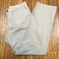 Banana Republic Men's Gray Classic Fit Dress Career Pants Size W33 L32