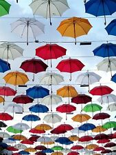 PRINT POSTER PHOTO ARTISTIC INSTALLATION UMBRELLA DISPLAY BROLLY LFMP0342
