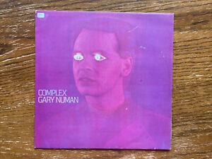 VINYL LP Gary Numan Complex 1979 Beggars Banquet BEG 29 T VG+/VG+