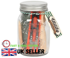 Glass Mason Jar Plant Potting Tool Set For Any Gardens Or Window Boxes Uk Seller