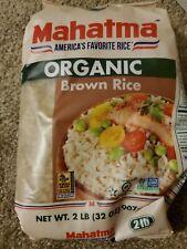 Mahatma Organic Brown Rice 2Lb NON GMO/Gluten Free/exp.2021