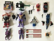 G1 Transformation Lot Dino Cassette Pretenders Parts Accessories Scorponok Gobot