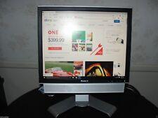 "Dell 17"" LCD Monitor UltraSharp 1708FPf VGA DVI USB Swivel Height adjust+Speaker"