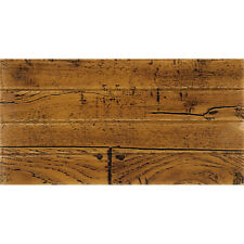 Rustic Rosewood by ImagiWall Peel and Stick 3D Foam Wall Tile (4-Pack, 8 Sq Ft)