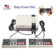 Mini Vintage Retro TV Game Console Classic 500 Built-in Games 2 Controllers US D