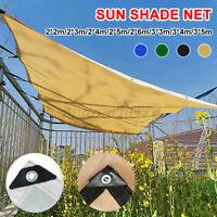 Sun Shade Sail Garden Patio Swimming Pool Awning Canopy Sunscreen UV Outdoor