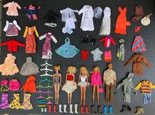 Vintage 70's Barbies, Midge, Ken, Clothing, Shoes plus Skipper & Gi Joe Clothing