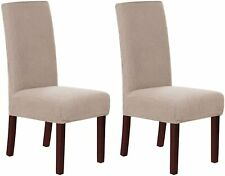 2X Chair Covers Stretch Slipcover Removable Furniture Protector for Dining Room