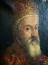 Doge Venice Oil Painting Marino Grimani 17th Cent. Old Master Aft Bassano