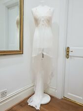 e672126cca257 Victoria s secret Designer Collection Lace Bridal Maxi Slip Nwt