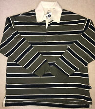 Gap Kids Boys Long Sleeved Striped Rugby Shirt NWT L 10 Large!