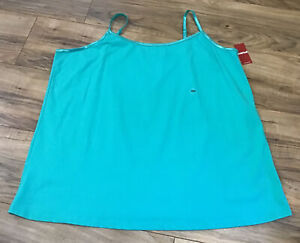 New Avenue Your Cami Green Camisole Women's Plus Size 22 / 24 Adjustable Straps