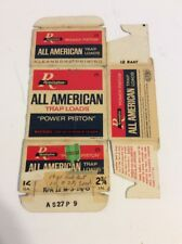 Remington All American Trap Load Empty Box Power Pisron 12 Gauge Box #1