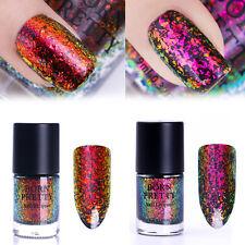 2pcs 9ml Chameleon Nail Polish Starry Flakes Polish Lot Red Purple Born Pretty