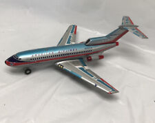 Marx Tin Lithograph American Airlines Astro Jet 727 Battery Toy Plane